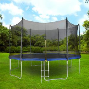 Learning the aspects of trampoline safety